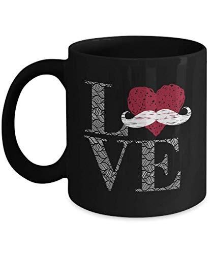 Love Moustache Mug