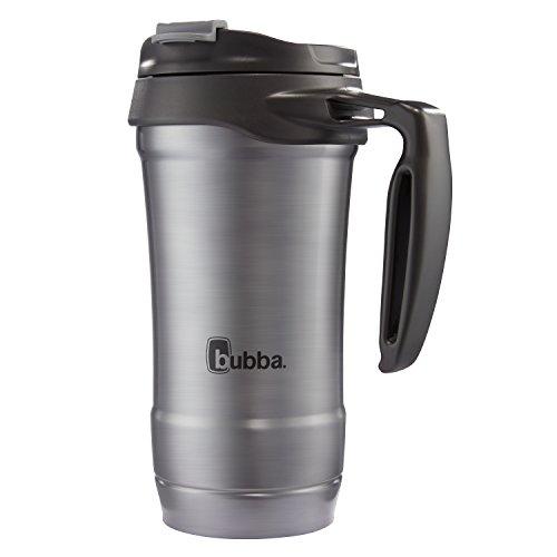 Bubba HERO Vacuum-Insulated Stainless Steel Travel Mug with Handle 18 oz Gunmetal