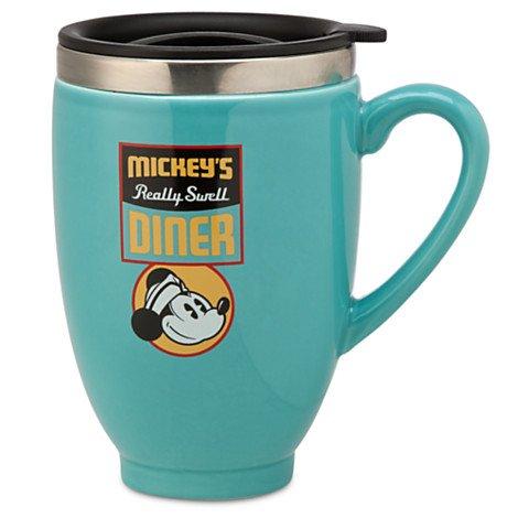 Disney Mickey Mouse - Mickeys Diner Travel Mug