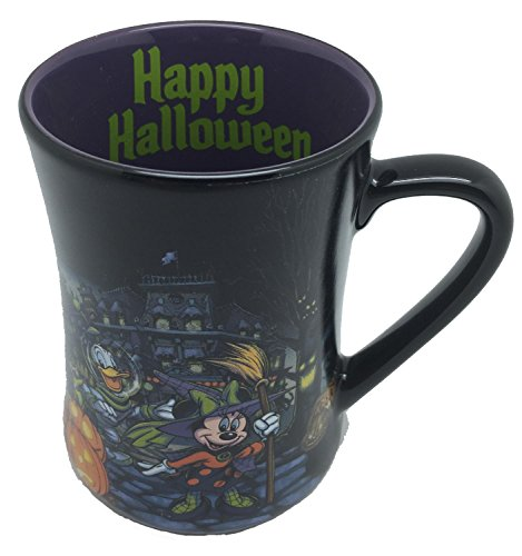 Disney Parks Happy Halloween Mickey Mouse Ceramic Mug