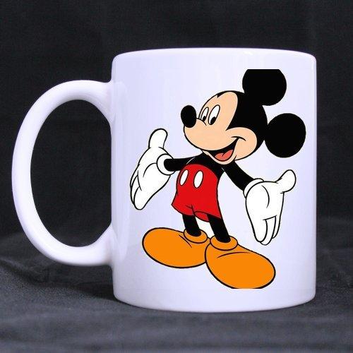Personalized Custom cartoon mickey mouse Mug White Ceramic Mug Gift Coffee Tea Cocoa -11 Oz Mug - Birthday Gifts