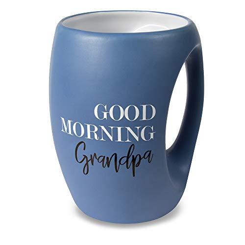 Pavilion Gift Company 10500 Good Morning Grandpa 16oz Mug 16 oz Blue