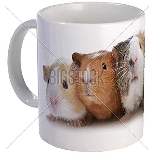 11 ounce Mug - Five Guinea Pigs Mug - S White