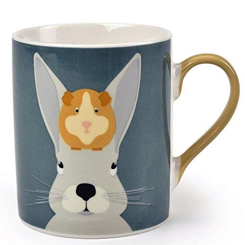 Burgon Ball Creaturewares GCRRABBITMUG Arthur Squeak RabbitGuinea Pig Fine China Mug