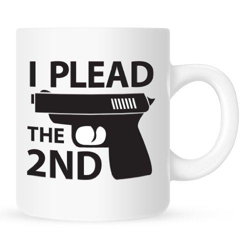 I Plead the 2nd - Gun Coffee Mug - 11 oz