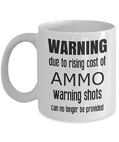 Riaing Costs of Ammo - pro 2nd amendment gun coffee mug ammo mug