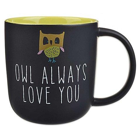 Owl Always Love You Statement Chalkboard Mug