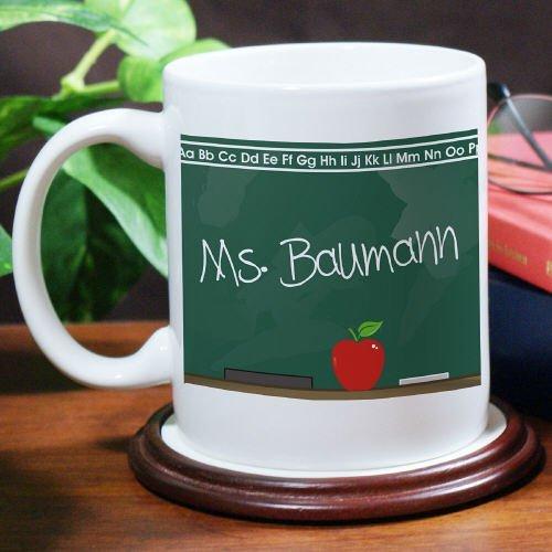 Chalkboard Teacher White Coffee Mug11oz Dishwasher Safe Teacher Gift