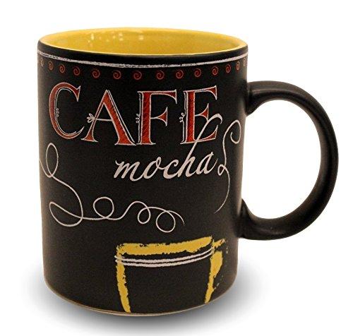 Starbucks Coffee Cafe Mocha Chalkboard Mug 2007