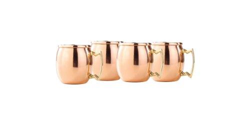 Old Dutch 2 Oz  Solid Copper Mini Moscow Mule Shot Mug Set of 4