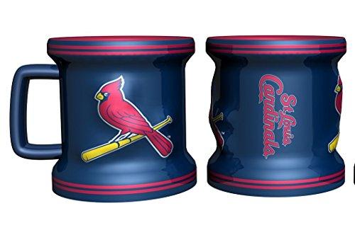 St Louis Cardinals Shot Glass - Sculpted Mini Mug