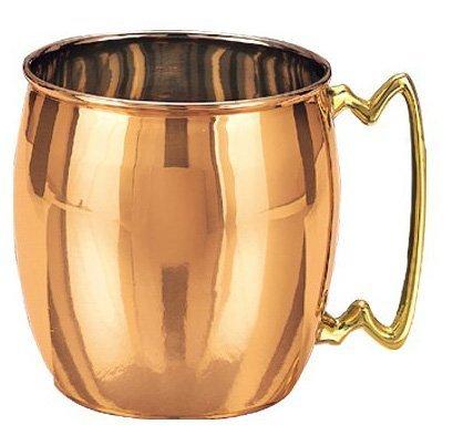 Old Dutch Nickel-Lined Solid Copper Moscow Mule Mug 16 Oz
