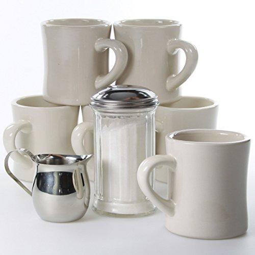 Coffee Mugs Classic Diner Tableware Set
