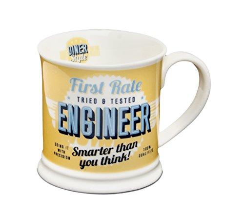 Diner Mugs 195000050 Engineer Mug Yolk Yellow