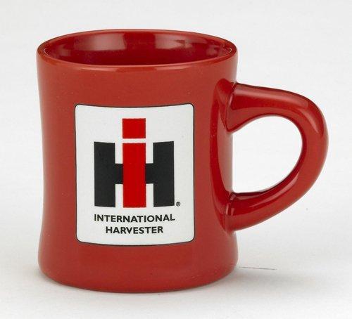 Red Stoneware 8oz Diner MUG with IH Logo by Cornell
