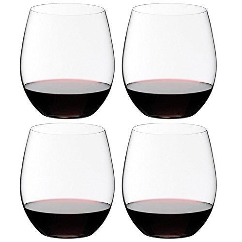 Riedel O Wine Tumbler CabernetMerlot Set of 4 Clear - 74140