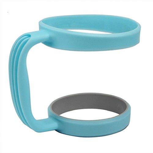 Orangeskycn 30 Oz Stainless Steel Insulated Tumbler Mug Handle Sky Blue
