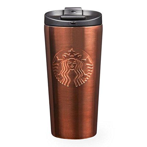 Starbucks Mermaid Siren Copper Gradient Stainless Steel Insulated Tumbler 16 Oz