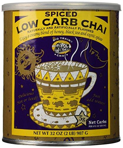 Big Train Carb Conscious Drink Mix Spiced Chai 2 Pound