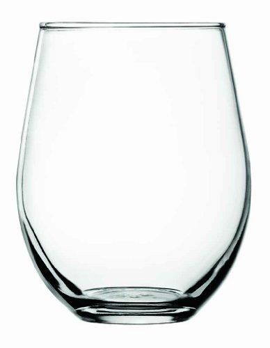 Anchor Hocking Vienna Stemless Red Wine Glasses 20 oz Set of 4