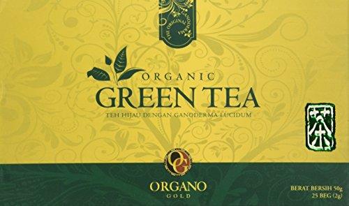 Organo Gold Organic Green Tea-175 oz 25 count