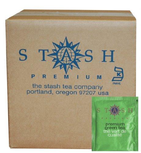 Stash Tea Premium Green Tea 100 Count Box of Tea Bags in Foil packaging may vary