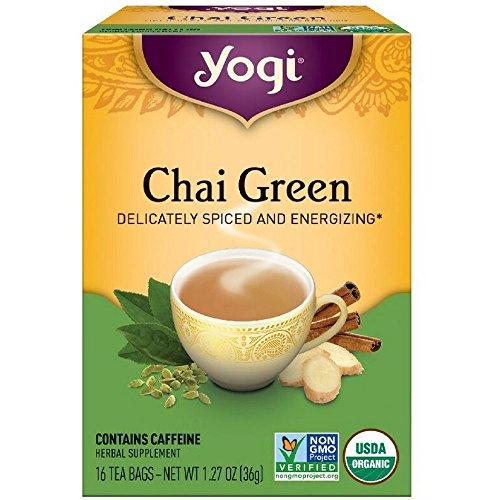 Yogi Tea Chai Green Tea 16 ea pack of 6