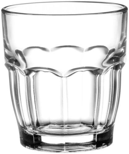Bormioli Rocco Rock Bar Stackable Juice Glasses 20 cl 6 34 0z Set of 6
