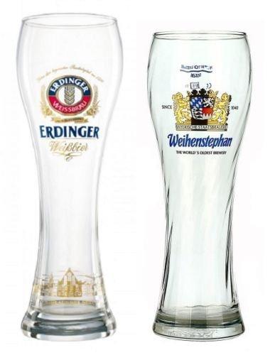 German Beer Glass Sampler 2-Piece Set