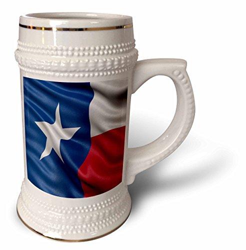 Carsten Reisinger - Illustrations - Texas state flag - 22oz Stein Mug stn_214940_1