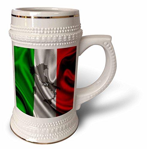 Edmond Hogge Jr – Flags - Italian Flag Design - 22oz Stein Mug stn_204475_1