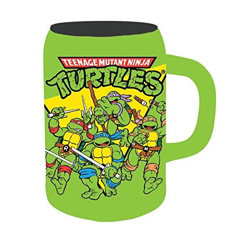 Silver Buffalo NT2141 Nickelodeon Teenage Mutant Ninja Turtles Group Shot Ceramic Stein Mug 22-Ounces