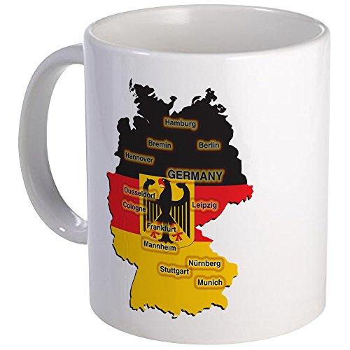CafePress Germany Map Mug Unique Coffee Mug Coffee Cup