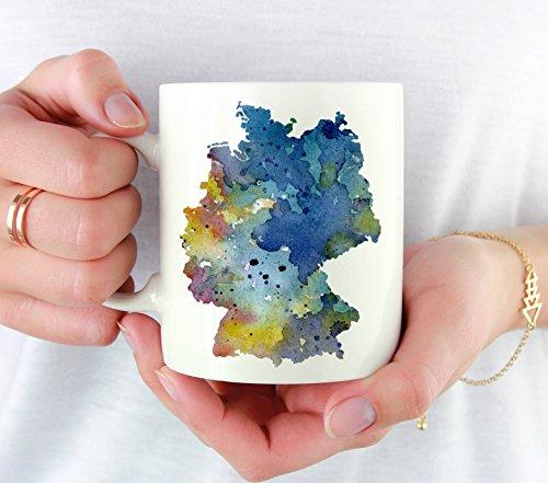 Germany Mug - Germany Lover Coffee Mug - 11oz - Unique Germany Gifts