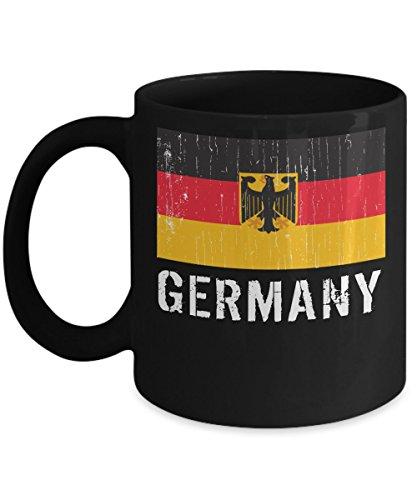 Germany National Flag Mug - Germany Vintage Flag Soccer Mugs