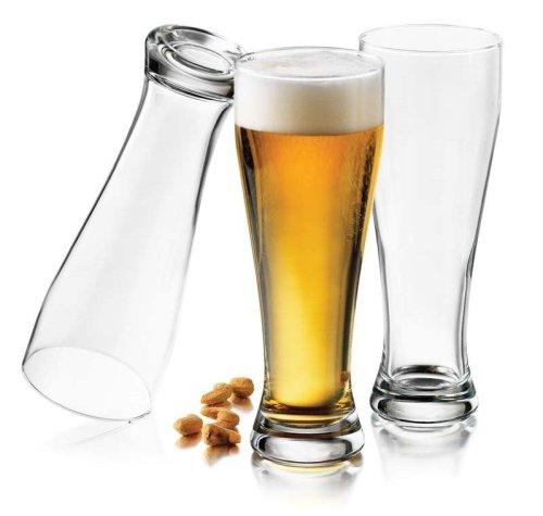 Libbey Giant Pub 22-12-Ounce Pilsner Glasses Set of 6