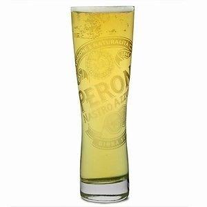 Peroni Italian Beer Glasses 03L - Set of 4