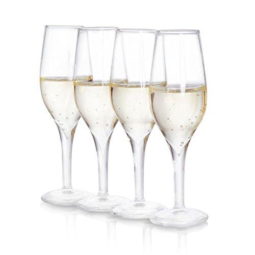 Shot Glass - Mini Champagne Set Of 4