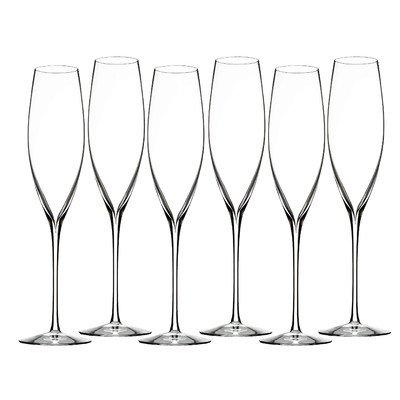 Elegance Classic Toasting Champagne Flute Set of 6