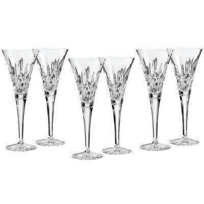 Lismore Toasting Champagne Flute Set of 6