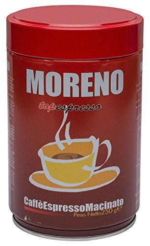Coffee Ground Espresso Made in Italy Caffe Moreno Top Espresso 88 oz - 250 g Il Vero Espresso Napoletano