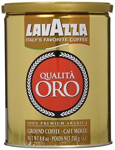 Lavazza Qualita Oro Espresso Ground Coffee 88 oz