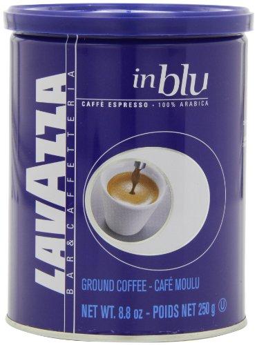 Lavazza in Blu Espresso Ground Coffee Blend Medium Espresso Roast 88-Ounce Cans Pack of 4