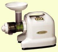 Samson 6-1 Single Auger Wheatgrass Multi Purpose Juicer - Model GB9001 - IVORY