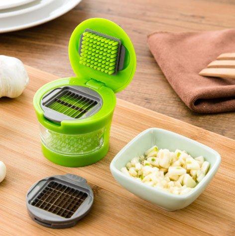 Garlic Chopper Vegetable Chopper Food Chopper Fruit Chopper Salsa Chopper Spice Tools For Your Kitchen green