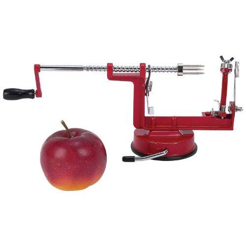 Maxam KTAPPLE Apple PeelerCorerSlicer with Suction Base
