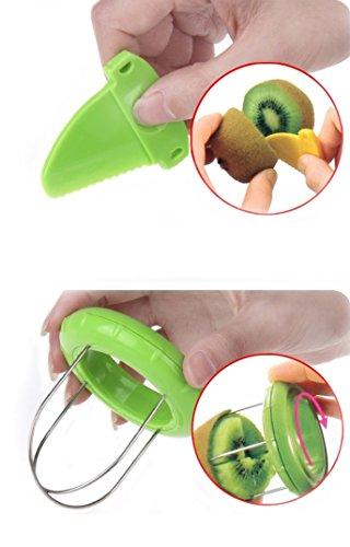 Novelty fruit Vegetable Kiwi CutterPeeler Tool