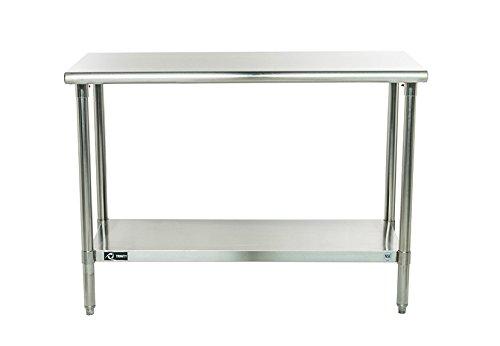 TRINITY EcoStorage NSF Stainless Steel Table 48-Inch