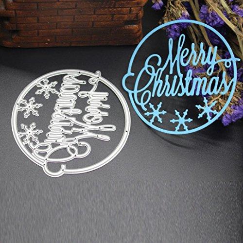 Transer Metal Cutting Dies Stencil DIY Scrapbooking Embossing Album Paper Card Craft K Silver