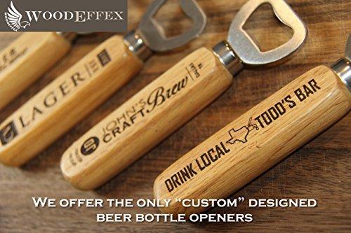 Personalized Beer Bottle Opener - Custom Designed